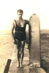 Surfing image 1940s