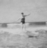 Surfing images from the 1940s and 1950s