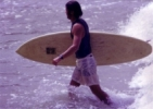 Surfing images from the 1970s and 1980s